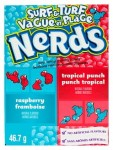 Cukierki Nerds Raspberry & Punch Tropical  46,7g