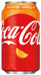 Coca-Cola Orange Vanilla USA  355ml