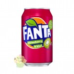 Fanta Strawberry & Kiwi 355ml