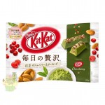 KitKat Japan  Luxury Every  Day -  Matcha, Berries , Almond 105g