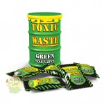 Toxic Waste Sour Candy Green  48g