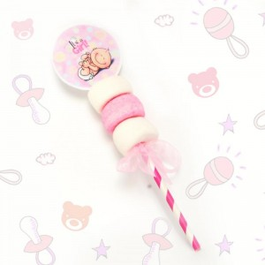 Marshmallow Pop Baby Shower- It's a Girl