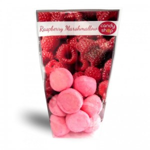Pianki Fresh Marshmallows - malina  100g
