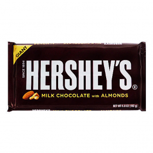 Hershey's Milk Chocolate with Almonds GIANT 192g