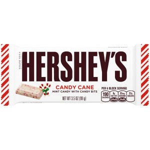 Hershey's Candy Cane Peppermint Bar  43g