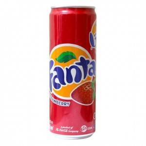Napój Fanta Strawberry 320ml