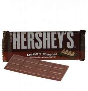 Hershey's Cookies 'n' Chocolate Bar 43gr