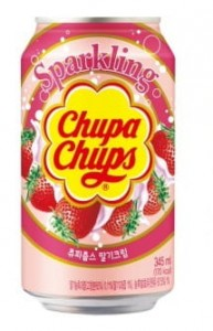 Chupa Chups Strawberry Drink   345ml