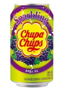 Chupa Chups Grape Drink 345ml