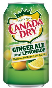 Canada Dry Ginger Ale and Lemonade 355ml