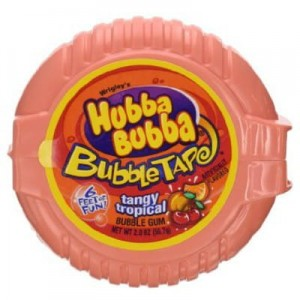 Hubba Bubba Bubble Tape Tropical 56,7g