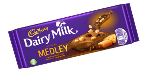 Cadbury Dairy Milk  (Medley Biscuit and Fudge) 100g