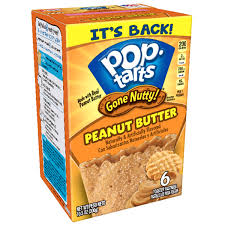 Pop Tarts Gone Nutty! Peanut Butter 300g