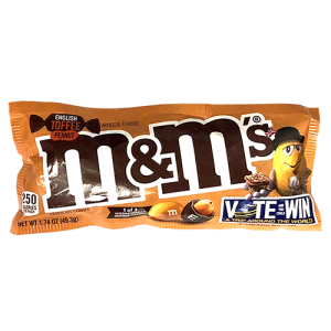 M&M's English Toffee Peanut 49,3g