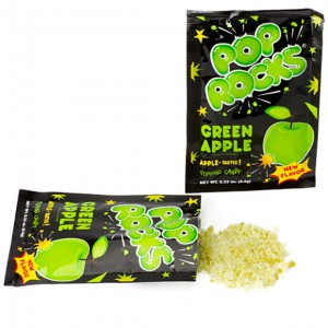 Pop Rocks Green Apple Candy 9.5g
