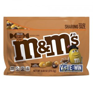 M&M's English Toffee Peanut 272g