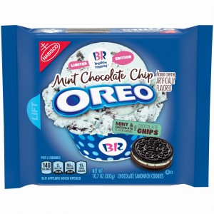 Oreo Mint Chocolate Chip Chocolate 303g