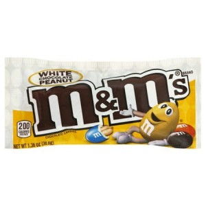 M&M's White Chocolate Peanut 38,6g