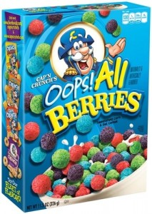 Płatki Cap'n Crunch's Oops! All Berries 326g