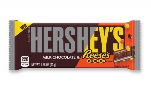 Hershey's Milk Chocolate & Reese's Pieces 43g