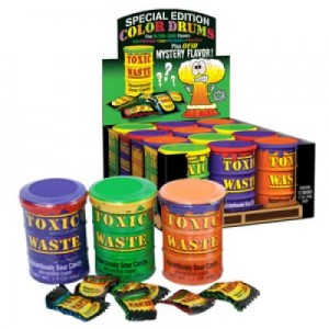 Toxic Waste Candy Special Edition Drums - Toxic Waste Candy