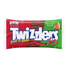 Twizzlers Pull 'N' Peel  Watermelon Candy 396g