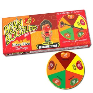 Jelly Belly Bean Boozled  Flaming FIve Challenge ( Fasolki Ostre) 100g