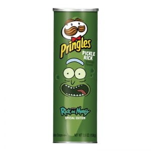 Pringles Screamin' Dill Pickle  Xtra ( Special Edition)158g