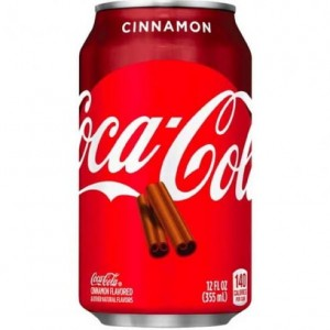 Coca Cola Cinnamon 355ml