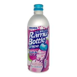 Ramune Sangaria Grape Drink 500ml