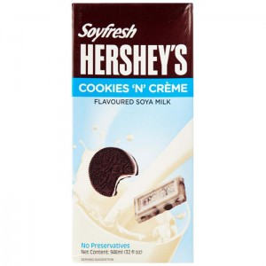 Hershey's Milk Soyfresh Cookies 'N' Cream 946ml