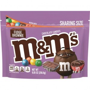 M&M's Fudge Brownie 256,6g