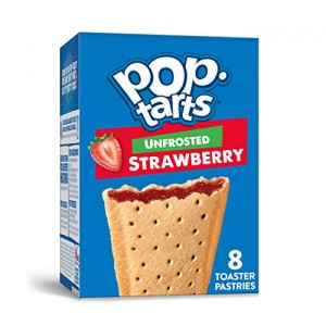 Pop Tarts Strawberry (Unfrosted) 384g