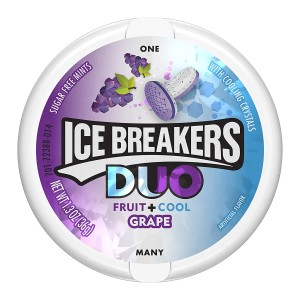 Ice Breakers Duo Grape Cool Mints 42g
