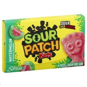 Sour Patch Kids Watermelon Gum