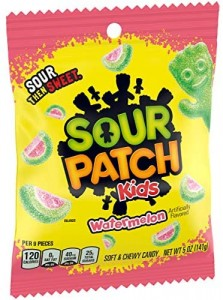 Sour Patch Kids Watermelon  141g