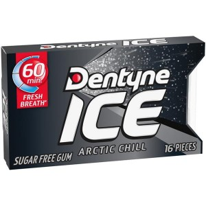 Dentyne Ice Arctic Chill  Sugar Free Gum 24g