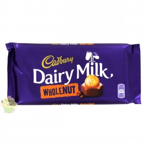 Czekolada Cadbury Whole Nut  200g