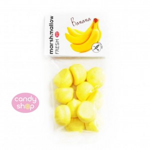 Pianki Fresh Marshmallows - banan  100g