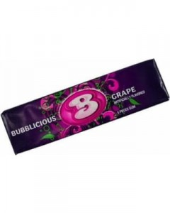 Bubblicious Bubble Gum Grape  5szt