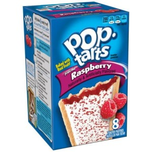Pop Tarts  Frosted  Raspberry  416g