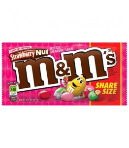 M&M's Strawberry Nut 92,7g