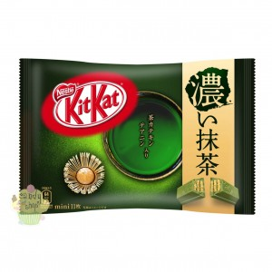 KitKat Japan  Green Tea Matcha Double