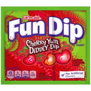 Fun Dip Cherry Yum 12,1g  (  Lizak  Plus  Puder  Owocowy)