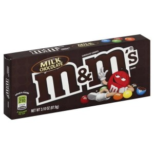 M&M's Milk Chocolate  Box 87,9g