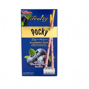 Pocky Blueberry Flavour Flakes 35g