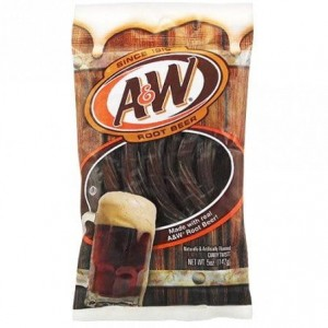 A&W Root Twist Jellie 142g