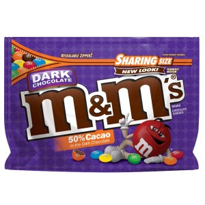 M&M's Dark Chocolate  286.3g
