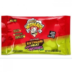 Warheads  Hotheads Tropical  Mini  Extreme  56,7g