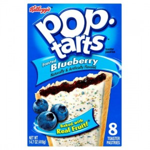 Pop Tarts Frosted  Bluberry (Unfrosted) 416g